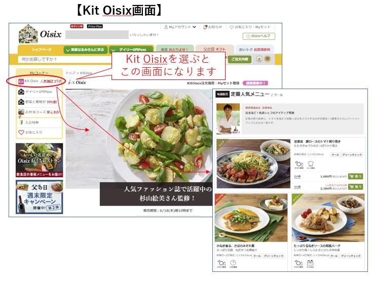 Kit Oisixを選ぶ
