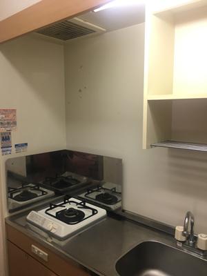 キッチンのDIY/賃貸マンションのキッチンをおしゃれに02