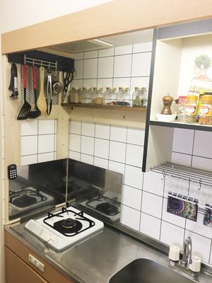 キッチンのDIY/賃貸マンションのキッチンをおしゃれに04