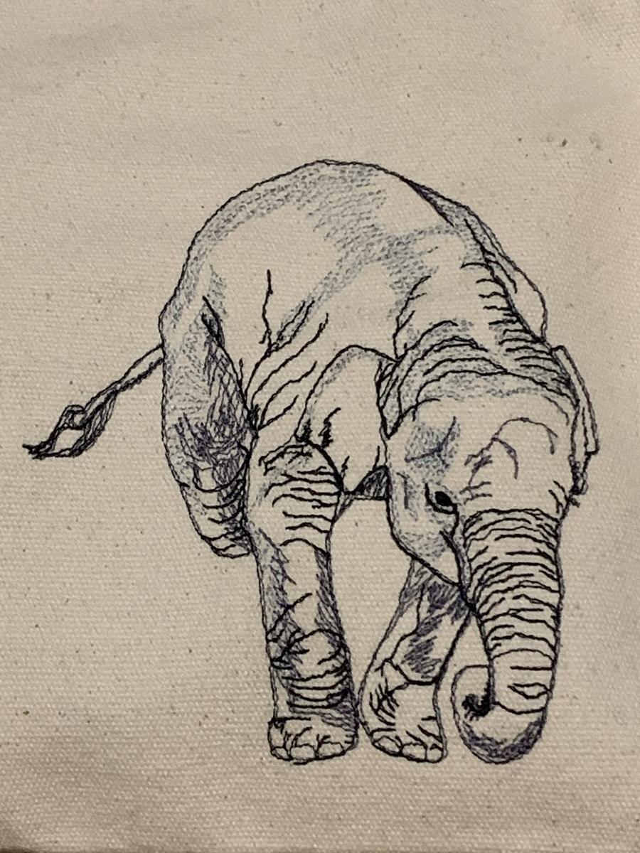さかだち ゾウさん