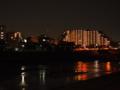 夜の猪名川