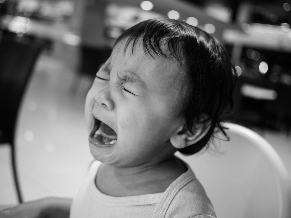 泣き顔赤ちゃん④