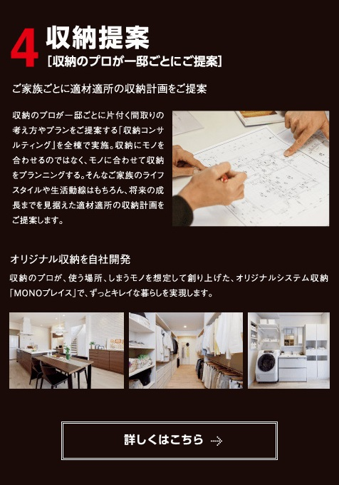 ウィザースホーム/収納提案
