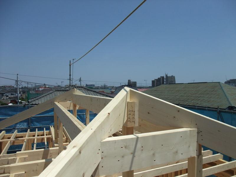 屋根上からの眺め