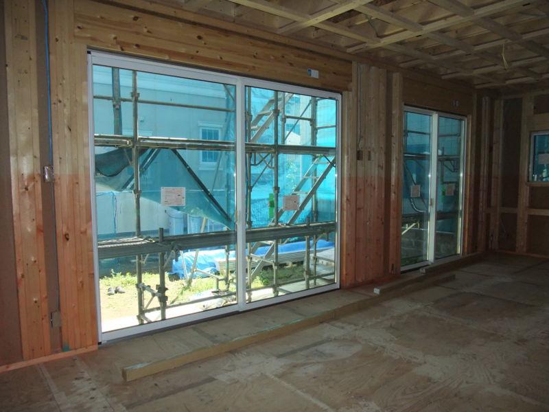リビング・ダイニングの窓