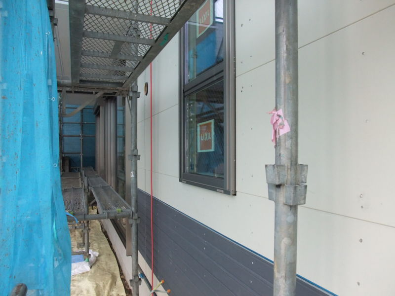 硬質木片セメント板下地02