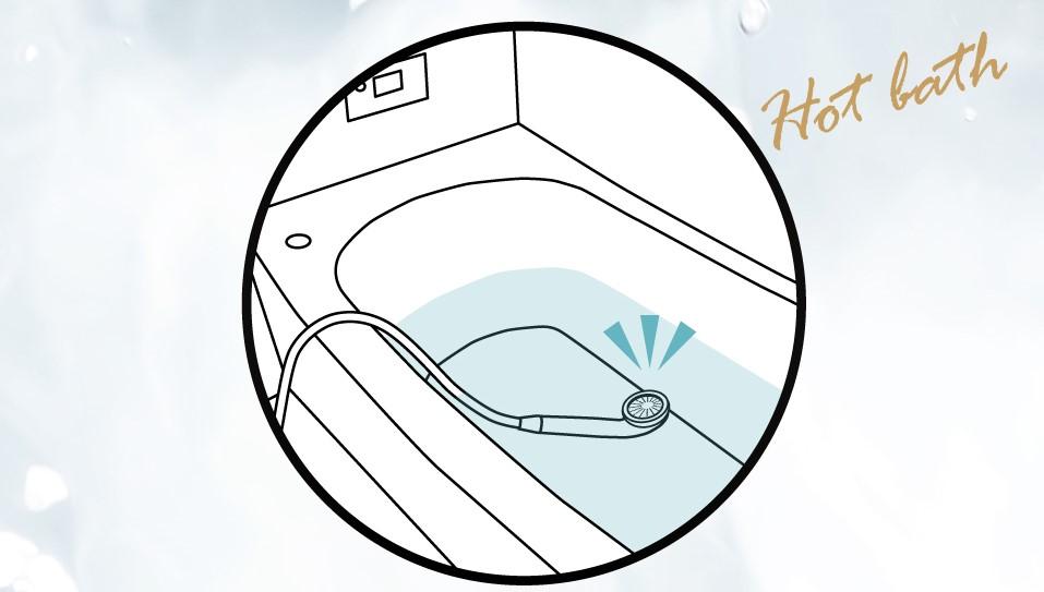 湯船の保温効果を高められる