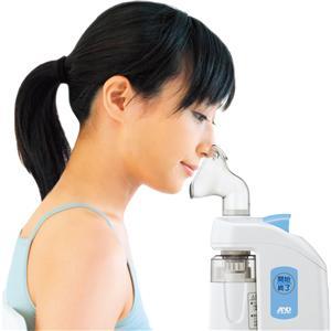 細霧喉鼻療法 ホットシャワー