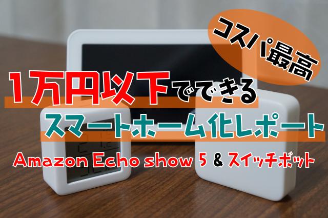 【間違いなくおすすめ】1万円以下スマートホーム化レポート コスパ最高のデバイス