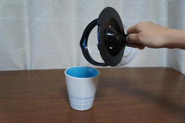 コーヒーサーバーがこぼれる|注ぐときに漏れる弱点が