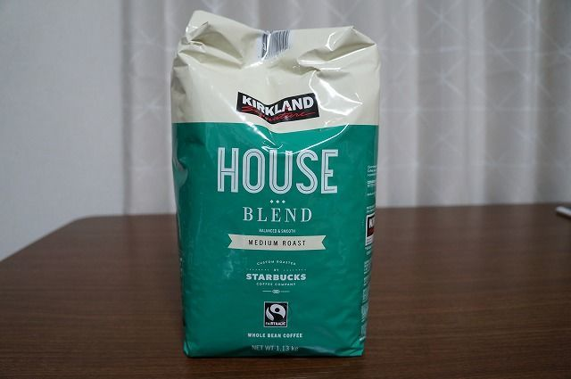 KIRKLAND シグネチャー スターバックス ロースト ハウスブレンドコーヒー|ロースト加減が絶妙なコーヒー豆