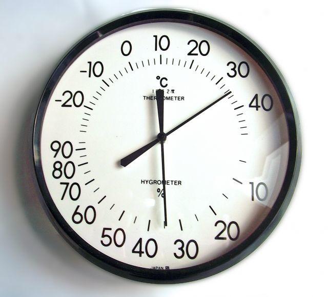 ファーストインプレッション 温度と湿度のバランス