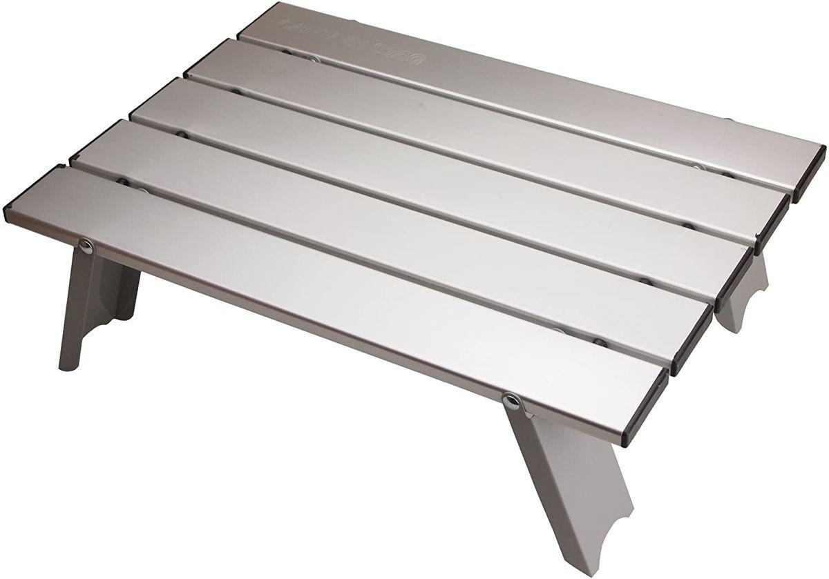 キャプテンスタッグアルミロールテーブル