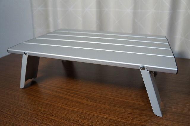キャプテンスタッグ アルミロールテーブル 組み立て方・畳み方のご紹介