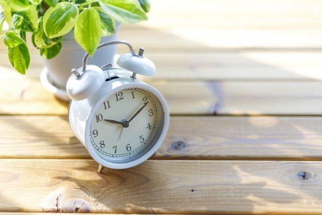 目覚まし時計としてかなり有用