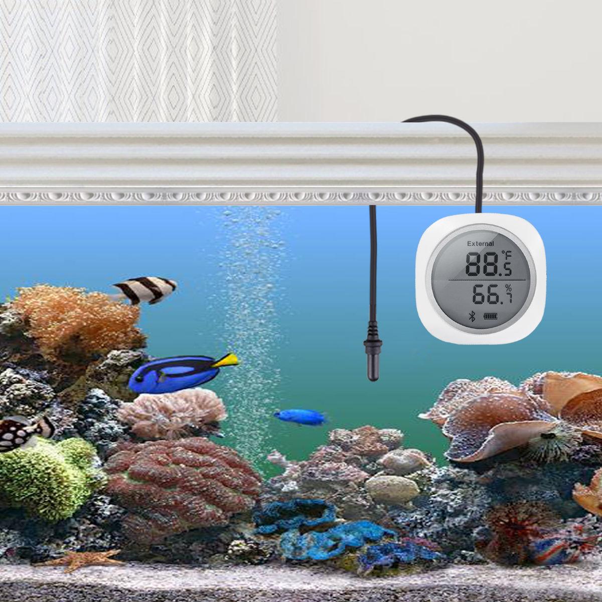 水温も測定できる