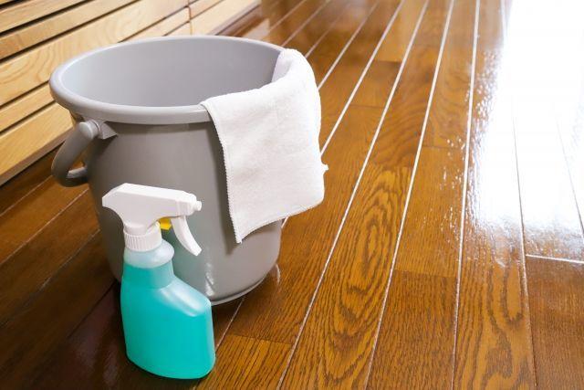 床掃除でツライのは水拭きだったりする