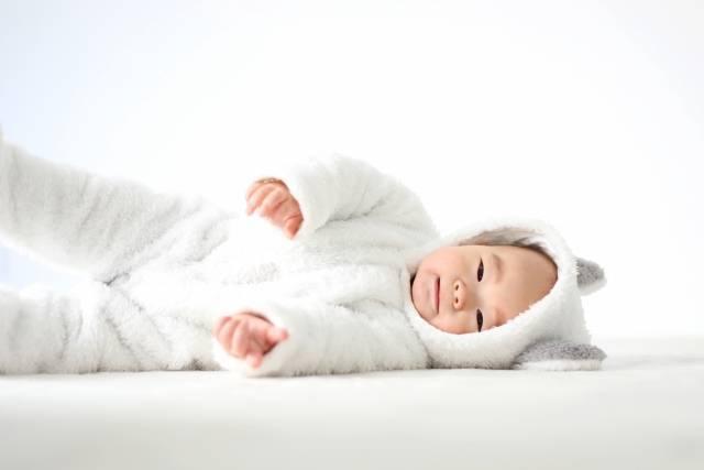 赤ちゃんの体重変化を記録できる