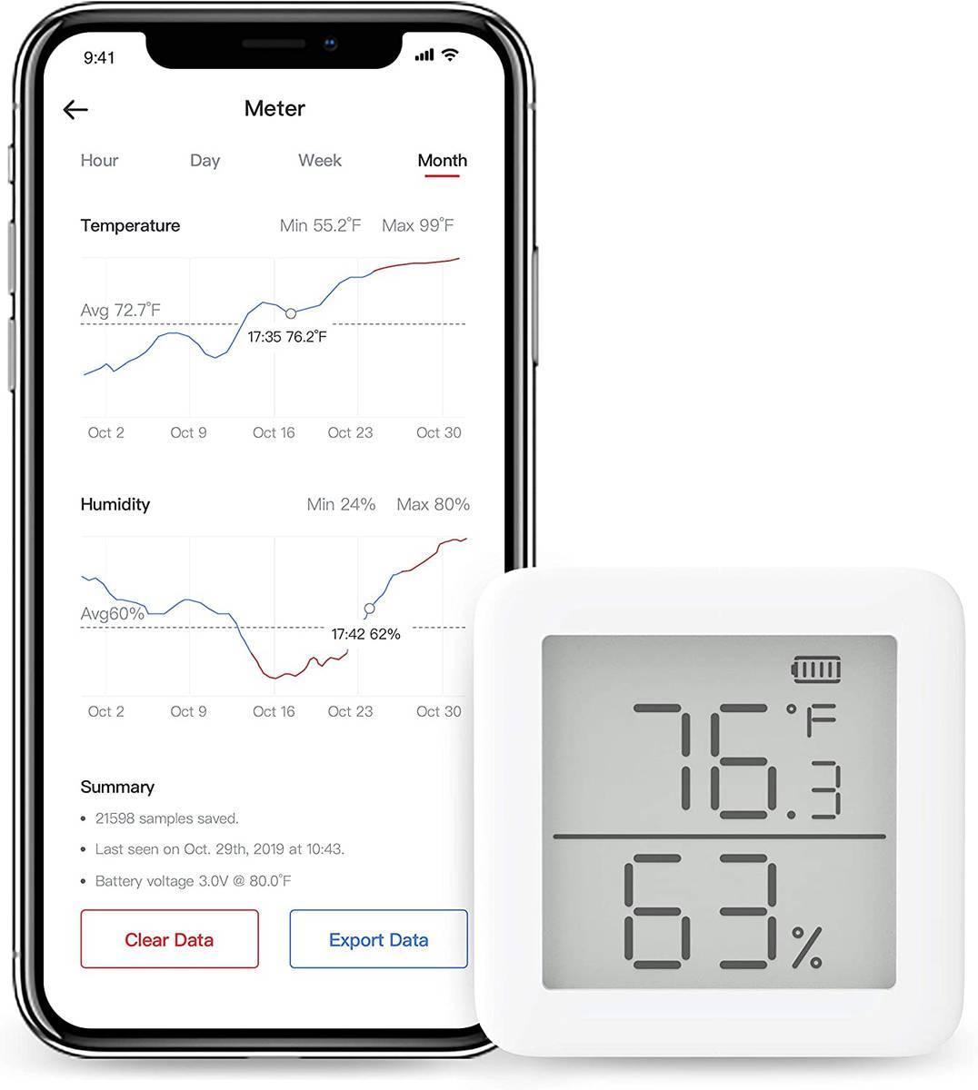 スイッチボット温湿度計