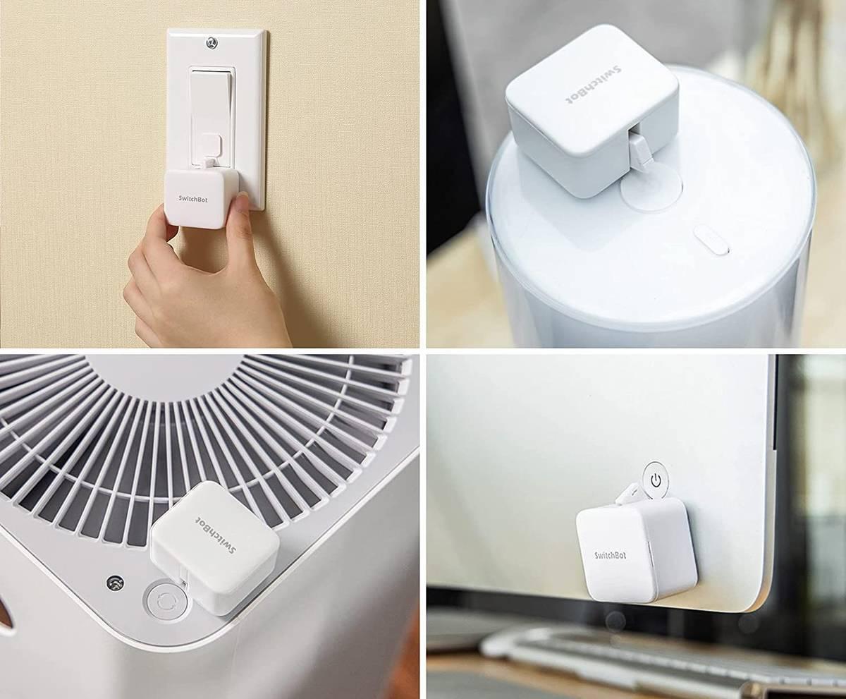ボタンタイプの家電