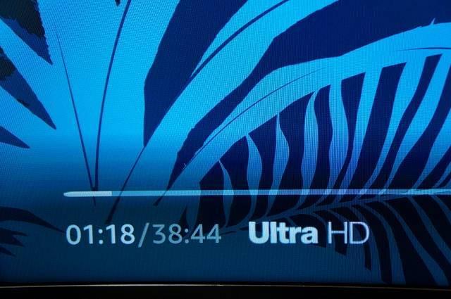 4K映像(ULTRA HD)もストレスなし