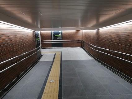 原宿駅 新通路