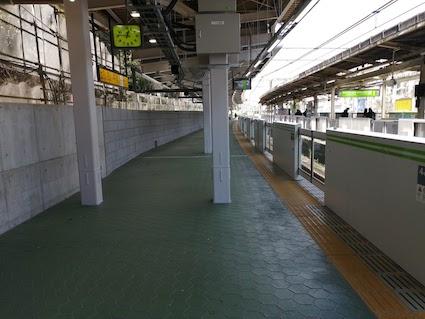 原宿駅 新ホーム
