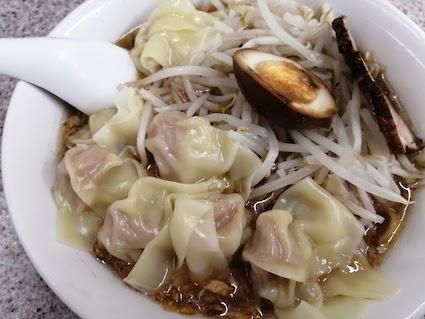 喜楽 ワンタン麺