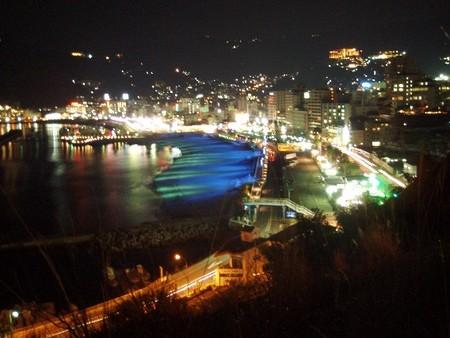 熱海の夜景(静岡県熱海市)