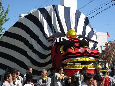 掛川大祭り (仁藤の大獅子)