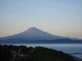 ディスカバリパーク焼津より富士山 (静岡県焼津市)