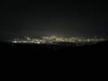 伊豆スカイラインから望む沼津市・三島市の夜景 (静岡県)
