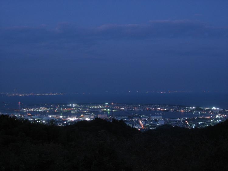 日本平から (静岡県静岡市)