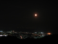 日本平からの夜景 奥の光は伊豆半島 (静岡県静岡市)