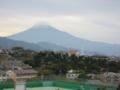 日本平スタジアム前からの富士山