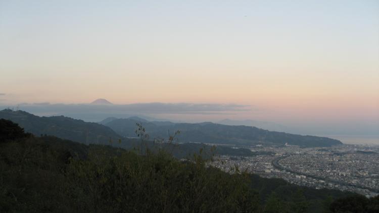 梶原山公園 【富士山と清水区の街なみ】  (静岡県静岡市)