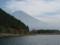 田貫湖と富士山 (静岡県富士宮市)