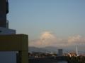 富士山 ~日本平スタジアム前から~ (静岡県静岡市清水区)