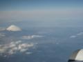 静岡県か神奈川県上空 富士山が見えます  【ANA羽田→那覇】