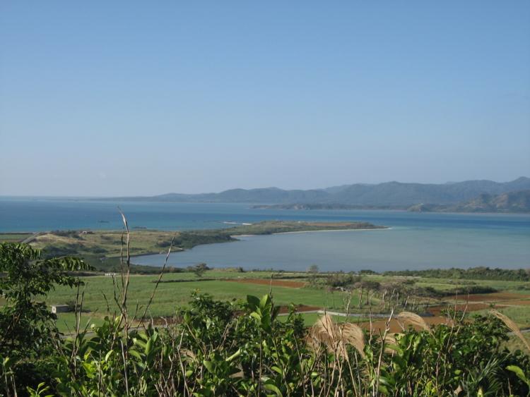 大岳の展望台より (小浜島)