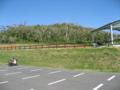 大岳展望台の駐車場 (小浜島)