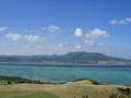 ちゅらさん展望台より 和也の木は右下にあります  ( 小浜島 )