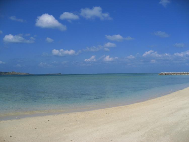 細崎の海岸  (小浜島)