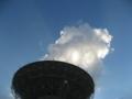 天文広域精測望遠鏡  定期的に望遠鏡が動きます (石垣島)