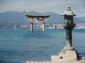 厳島神社 (広島県廿日市市)  撮影日は2003年2月です