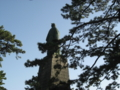 桂浜の坂本龍馬像 (高知県高知市)