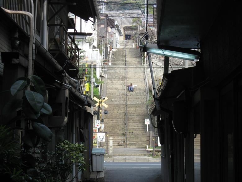 尾道のまちなみ (広島県尾道市)