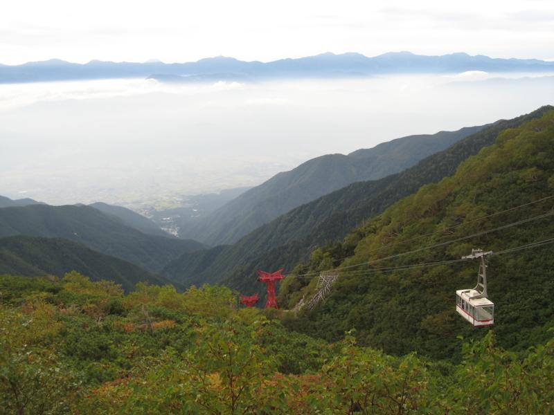 駒ヶ岳ロープウェイ しらび平駅 (長野県駒ヶ根市)