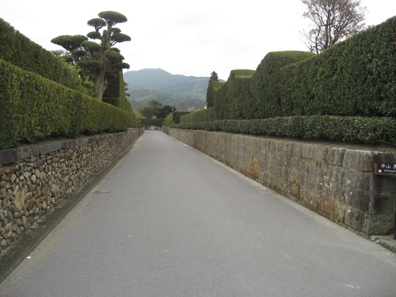 知覧の武家屋敷 (鹿児島県南九州市)