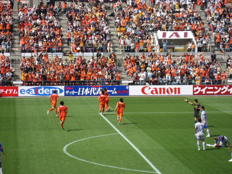 2010Jリーグ第6節 清水5-1仙台 @アウスタ日本平